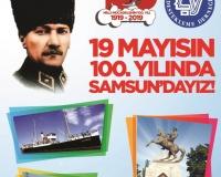 19 Mayıs'ın 100. yılında Samsun'dayız!
