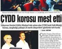 ÇYDD KOROSU MEST ETTİ!