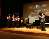 GS Lisesi Piyanistler Arın Alagün'le Birlikte ÇYDD Yararına Konser